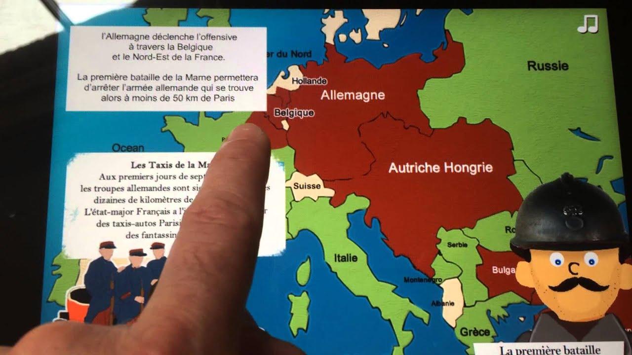 la premi u00e8re guerre mondiale - resume couleur ipad