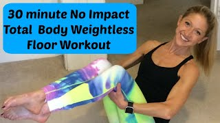 30 Minute No Impact Total Body Floor Barre For Healing, Strength, and Fitness