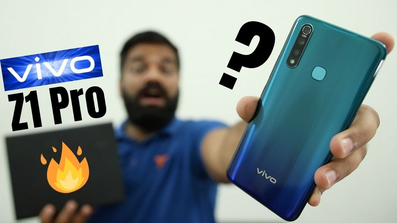 vivo Z1Pro Unboxing & First Look - Best in Class #FullyLoaded? ????????????
