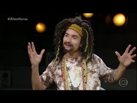 Mustafary e outros personagens entrevista com Serginho Groisman Altas Horas
