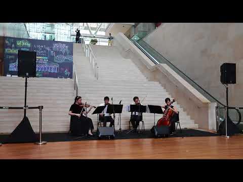 Waltz of the Flowers (The Nutcracker) - Tchaikovsky - Arpeggione String Quartet (Singapore)