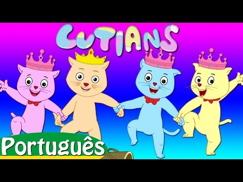 jack e jill cutians | rimas de berçário coleção | canções infantis em português | ChuChu TV