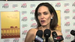 By The Sea: Angelina Jolie Red Carpet AFI Movie Premiere Interview