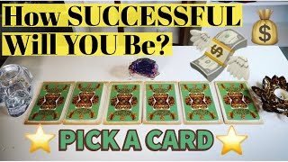 How Successful Will You Be In Life? (&How Will You Do It?)PICK A CARD