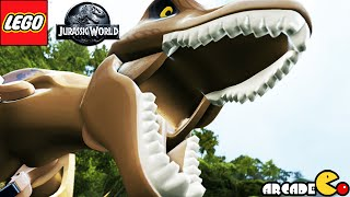 LEGO Jurassic World: All Cutscenes Jurassic Park Shutdown Part 3(Xbox One,PC,Wii U)