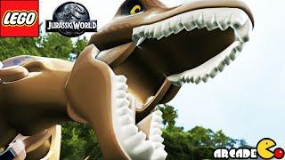 LEGO Jurassic World: All Cutscenes Jurassic Park Shutdown Part 3(Xbox One,PC,Wii U)