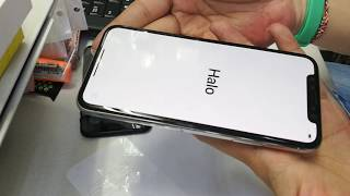 iphone x install tempered glass full 5d