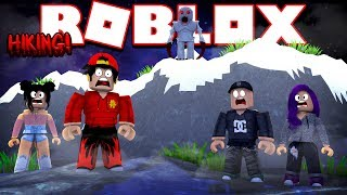 ROBLOX - HIKING WITH FRIENDS!!!