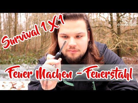 FEUER 🔥 Survival 1 X 1 - Mit Feuerstahl | Bushcraft Outdoor Alvo Hilbeck