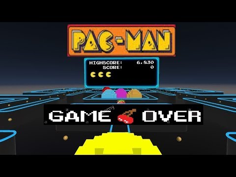 PAC-MAN| Game Over