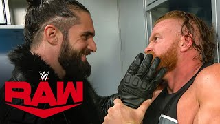 Seth Rollins berates Murphy Raw, Sept. 14, 2020