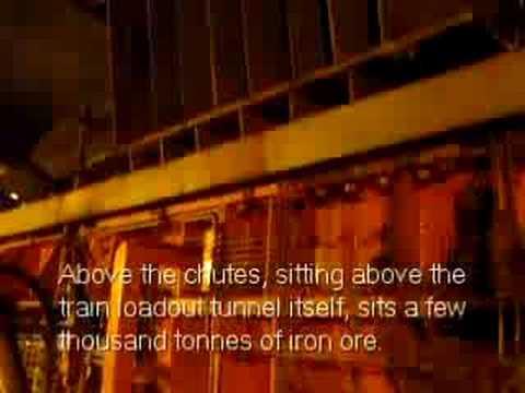 Iron Ore Mining - Loading a Train