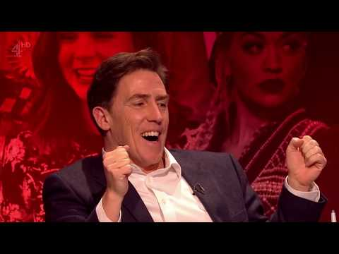 Rob Brydon trying to steal Jimmy Carr's hosting role at The Big Fat Quiz of the Year 2015