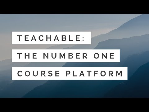 Teachable - #1 Course Platform to Create and Sell Online Courses
