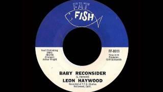 Leon Haywood - Baby Reconsider