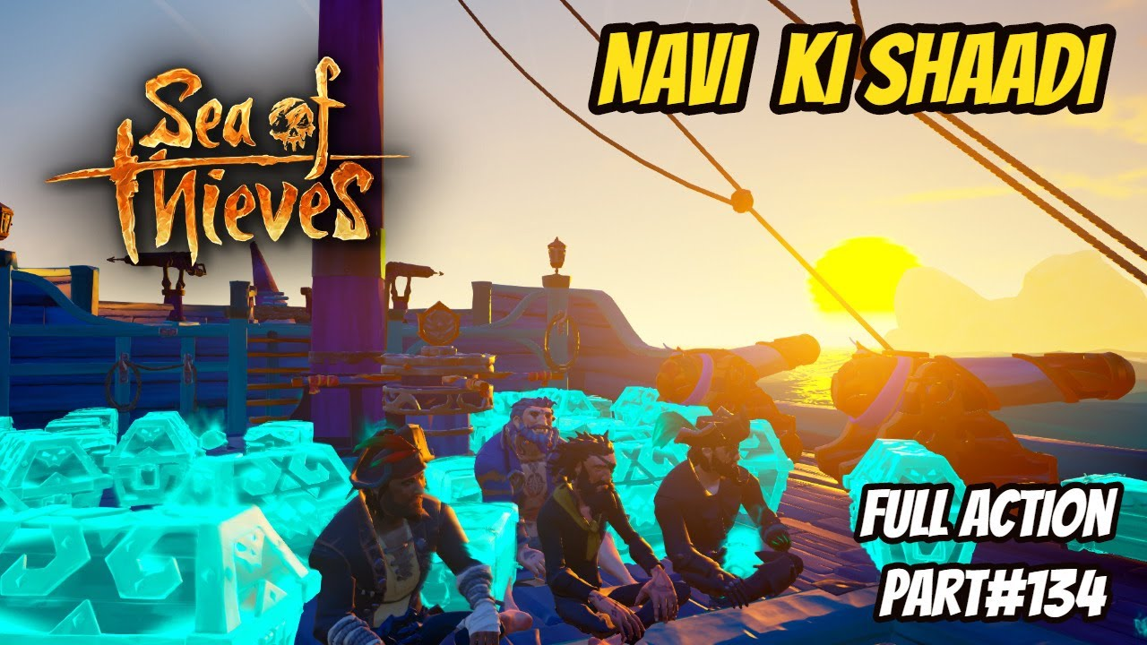 Sea of theives | Adventure | Athena mission | Hindi gameplay | Part 134