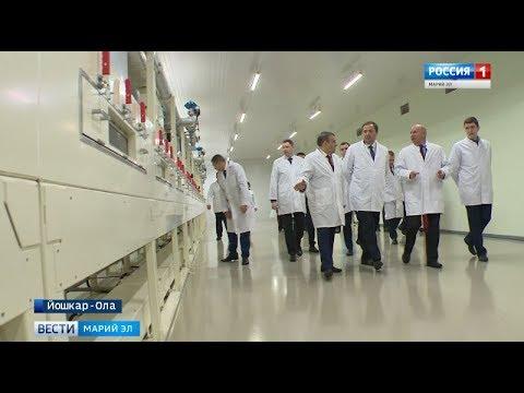 Смотреть Марий Эл впервые посетил полпред Президента России в ПФО Игорь Комаров онлайн