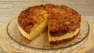 Alman Pastasi Ari Sokmasi Balli Bademli Pasta (Bienenstich)