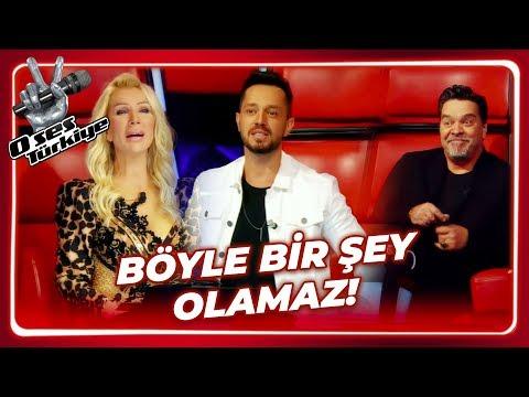 4 Jüri De Döndü, Stüdyo Karıştı | O Ses Türkiye 1. Bölüm