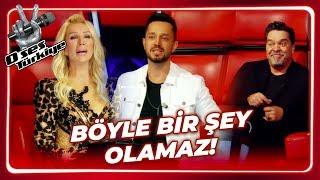 4 Jüri de Döndü, Stüdyo Karıştı | O Ses Türkiye 1.