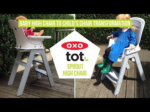 OXO Tot Sprout – Easy Baby High Chair to Child's Chair Transformation – A Mum Reviews