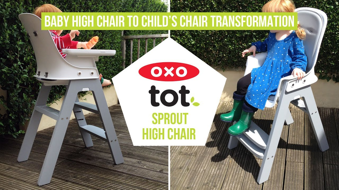 OXO Tot Sprout - Easy Baby High Chair to Childu0027s Chair Transformation - A Mum Reviews & OXO Tot Sprout - Easy Baby High Chair to Childu0027s Chair ...