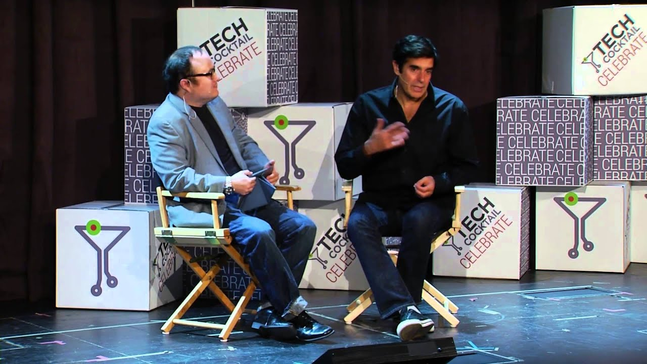 david copperfield captivating your audience tech cocktail  david copperfield captivating your audience tech cocktail celebrate vegas oct 2014