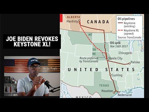 Joe Biden REVOKES Keystone XL Pipeline For POLITICAL Reasons!