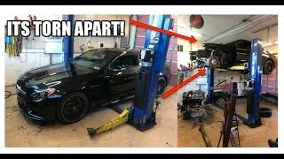 Hydrolocked C63 update! Sold at auction and NEW owner called me! (The current condition of the car)