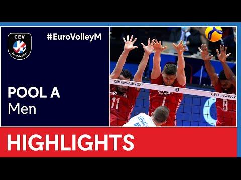 Serbia vs. Poland Highlights - #EuroVolleyM