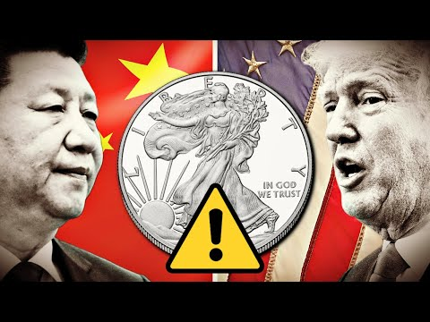 US/China Trade War is HURTING the Silver Market!?