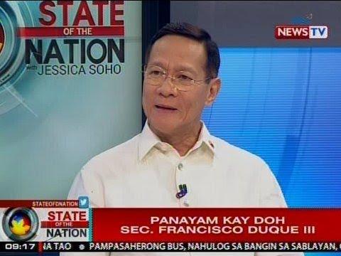 SONA: Panayam kay DOH Sec. Francisco Duque III