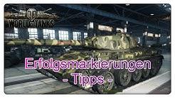 World of Tanks: Erfolgsmarkierungen