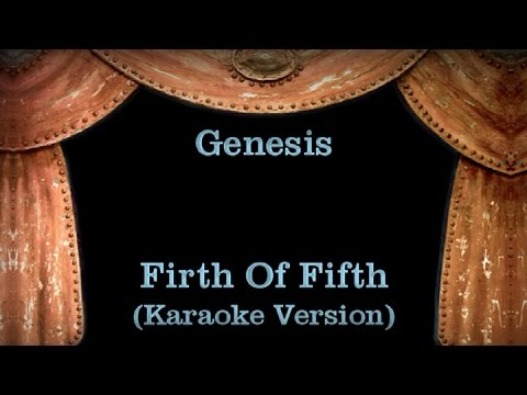 Genesis - Firth Of Fifth - Lyrics (Karaoke Version)