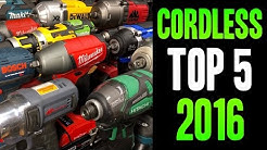 Top 5 BEST 2016 Cordless Power Tools