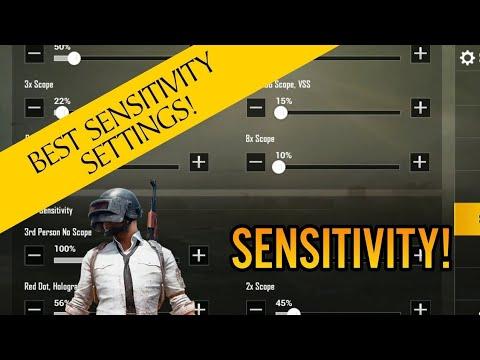 PUBG Mobile | Best sensitivity settings