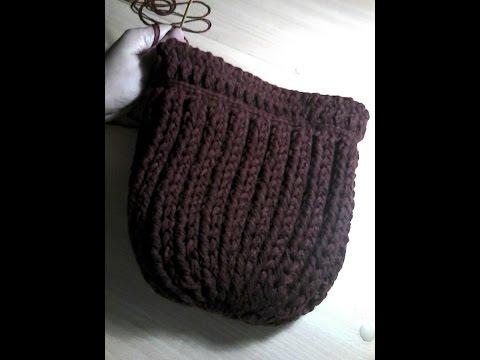ถักหมวกไหมพรมถวายพระ แบบที 1  Hat crochet