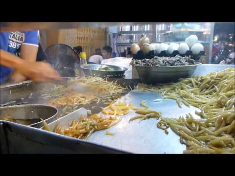 Fried Noodle In Phnom Penh