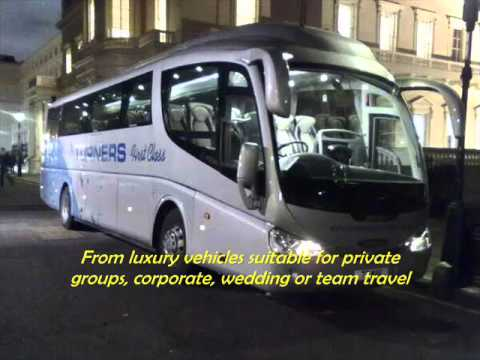 Turners Coachways Coach Hire Bristol South West UK Group Transport Travel