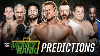 WWE Money in the Bank 2015 PPV Predictions
