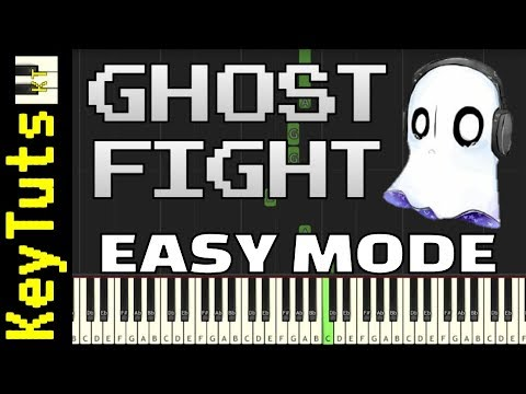Learn to Play Ghost Fight from Undertale - Easy Mode