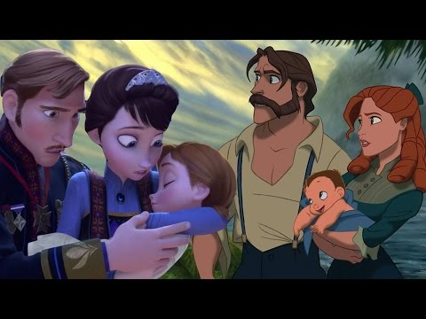 7 CRAZIEST Disney Animated Movie Fan Theories