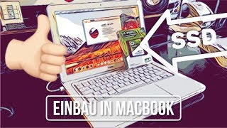 MacBook (Late 2009, A1342) Unibody SSD-Einbau