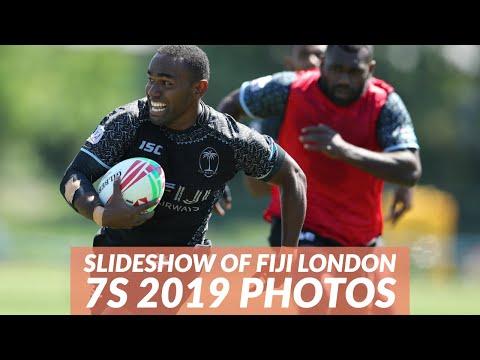 High Res Slideshow (photos only) of London 7s 2019 Fiji buildup games, Fiji vs Samoa & Fiji vs Kenya