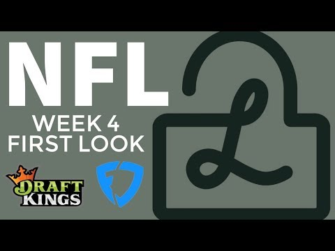 NFL Week 4 DraftKings and FanDuel first look — Locks DFS Podcast