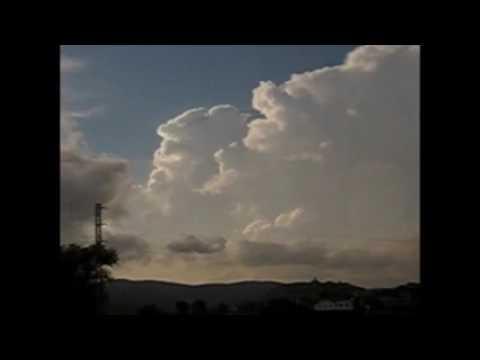 Mur de tempestes de tarda al Pirineu oriental - Agost 2012