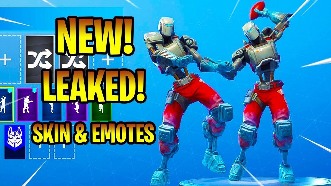 Fortnite Skin Aiming New Leaked A I M Skin Emotes Denied Spike It Fortnite Battle Royale Youtube