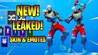 *NEW* LEAKED A.I.M Skin & Emotes (Denied, Spike It...) Fortnite Battle Royale