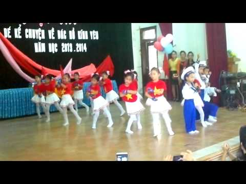 Phần thi năng khiếu của trường mầm non Vành Khuyên (Cam An, Cam Lộ, Quảng Trị)