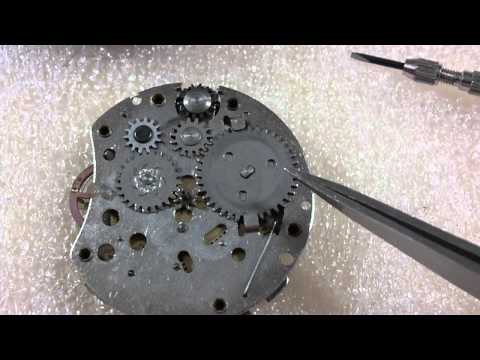 How I take apart a pocket watch, Westclox, Pocket Ben